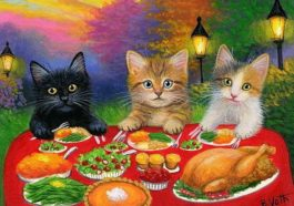 Thanksgiving food for cats